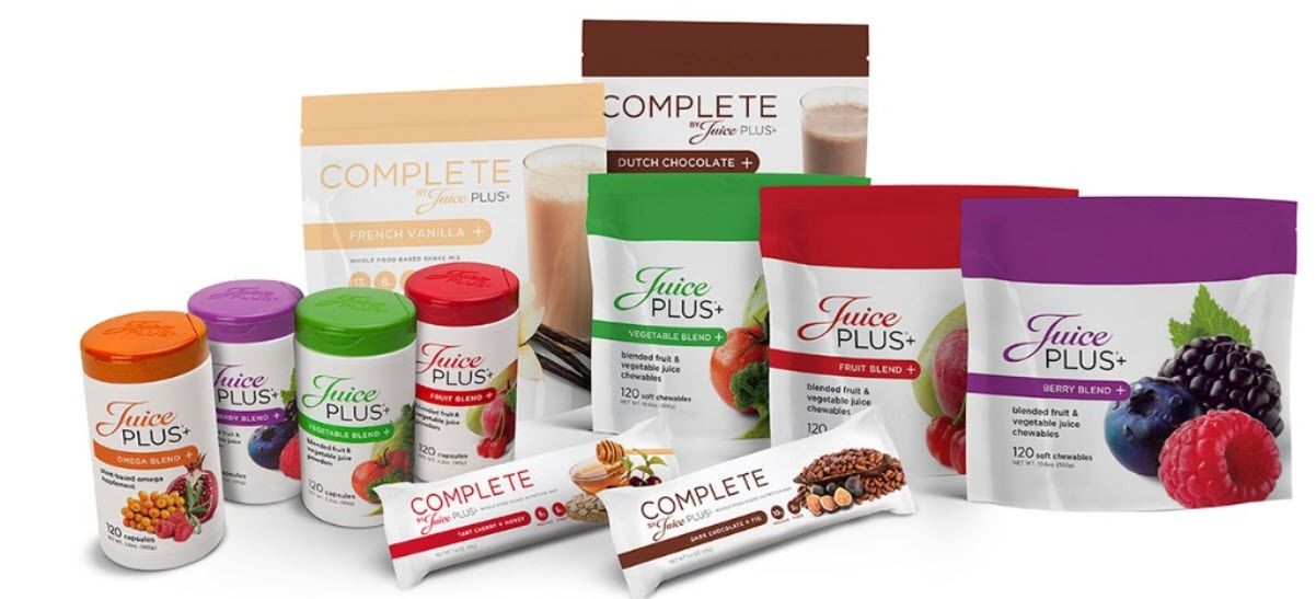 Juice Plus MLM Review - products 2