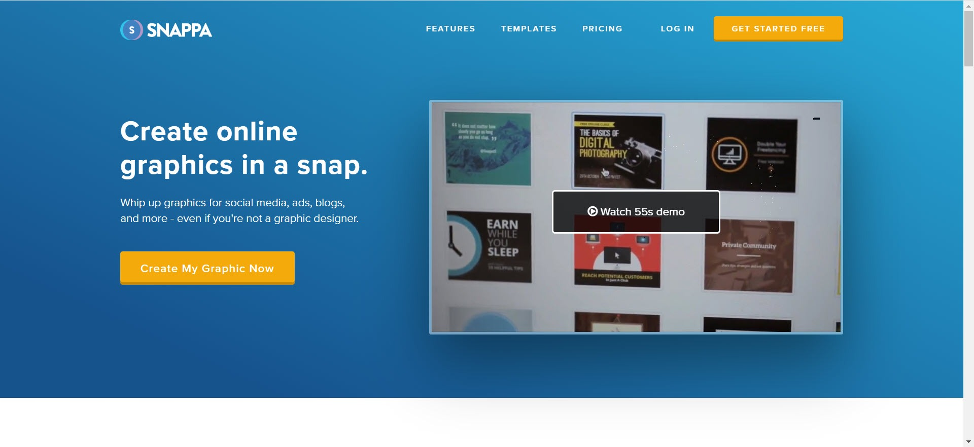 Photography Affiliate Programs - Snappa