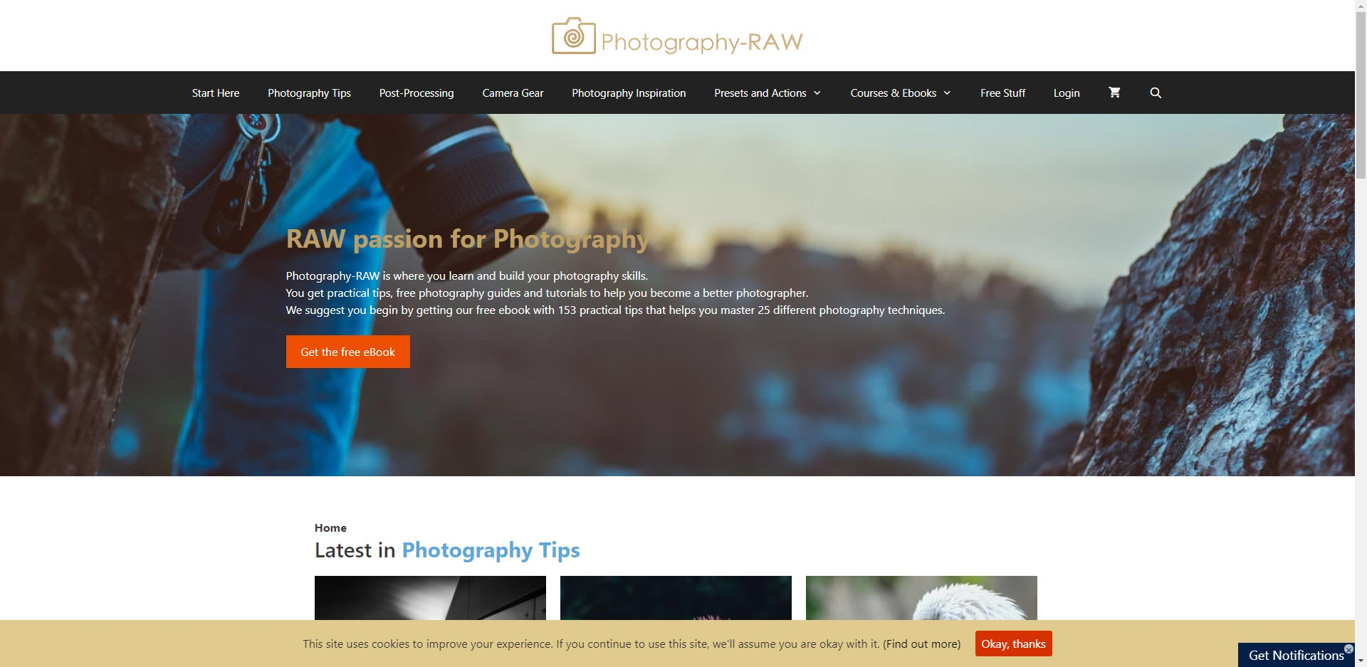 Photography Affiliate Programs - photography RAW