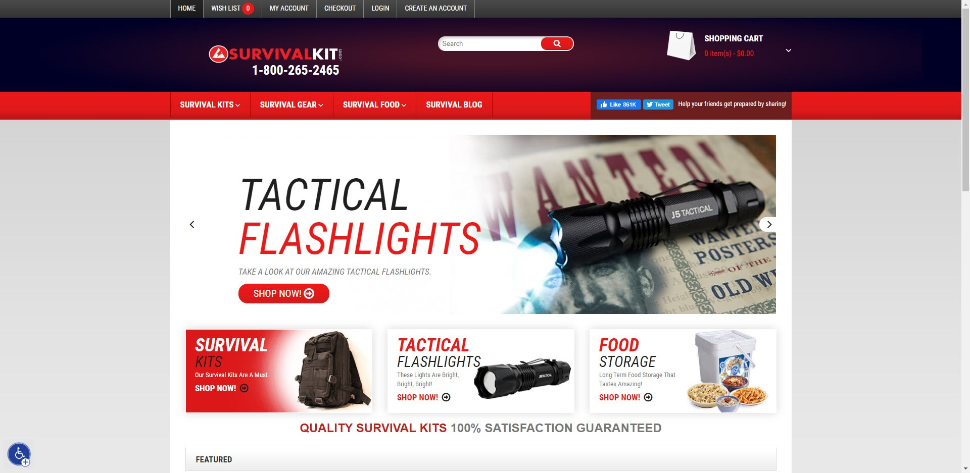 Survival Affiliate Programs - survivalkit home