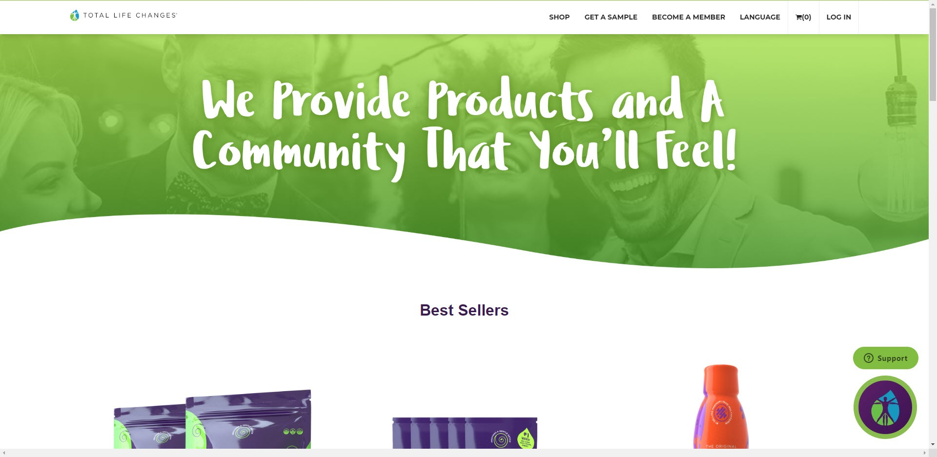 Total Life Changes MLM Review - Home