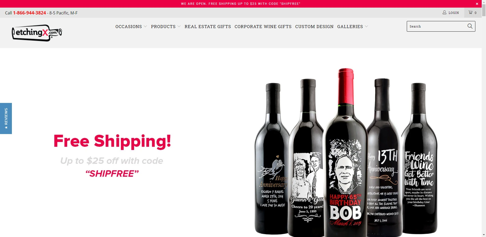 Wine Affiliate Programs - EtchingX.com