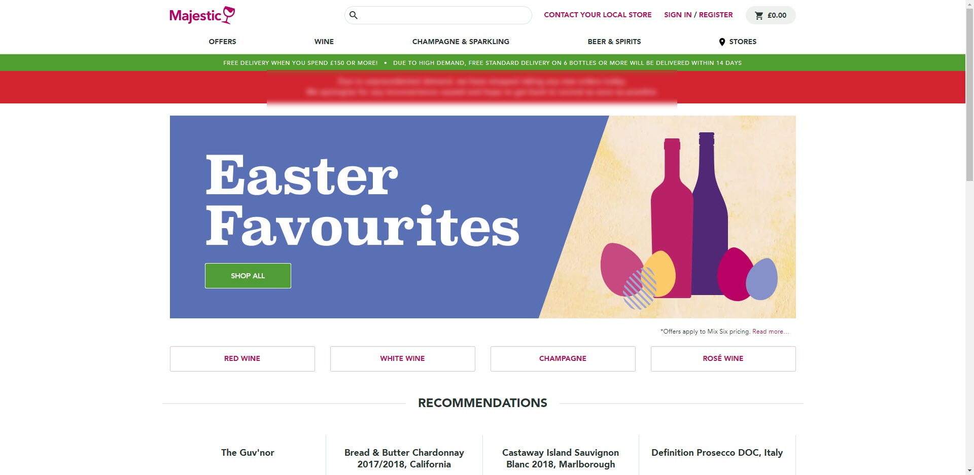 Wine Affiliate Programs - Majestic