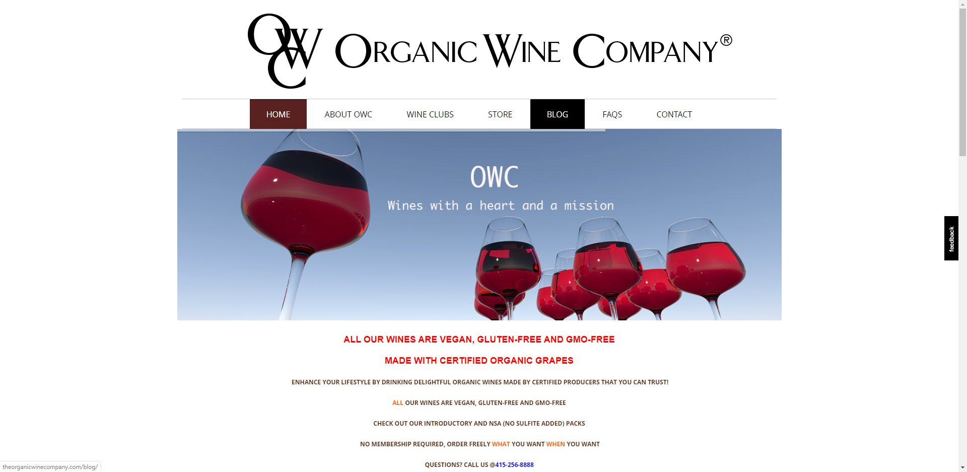 Wine Affiliate Programs - Organic Wine Company