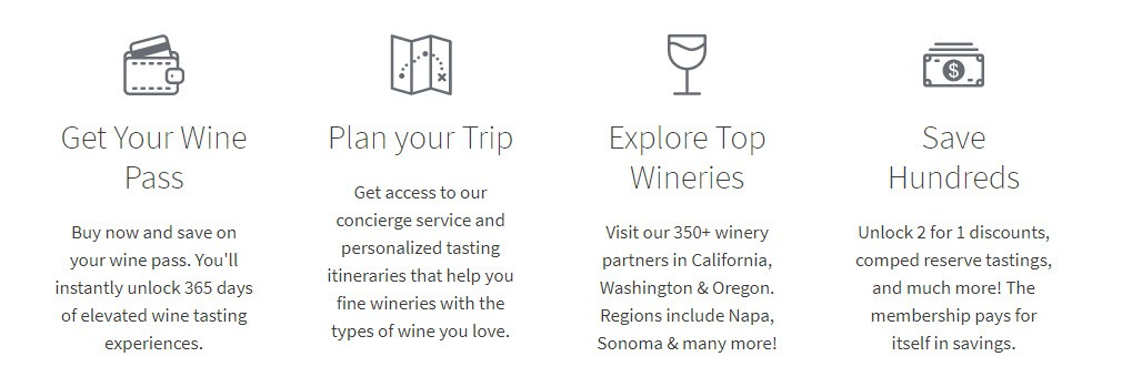 Wine Affiliate Programs - Priority Wine Pass stripe