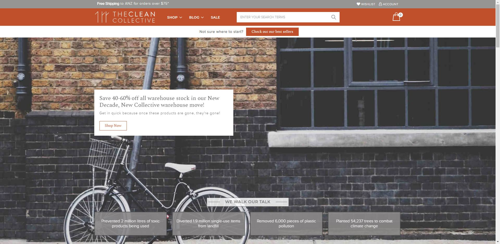 eco friendly affiliate programs - The Clean Collective Home