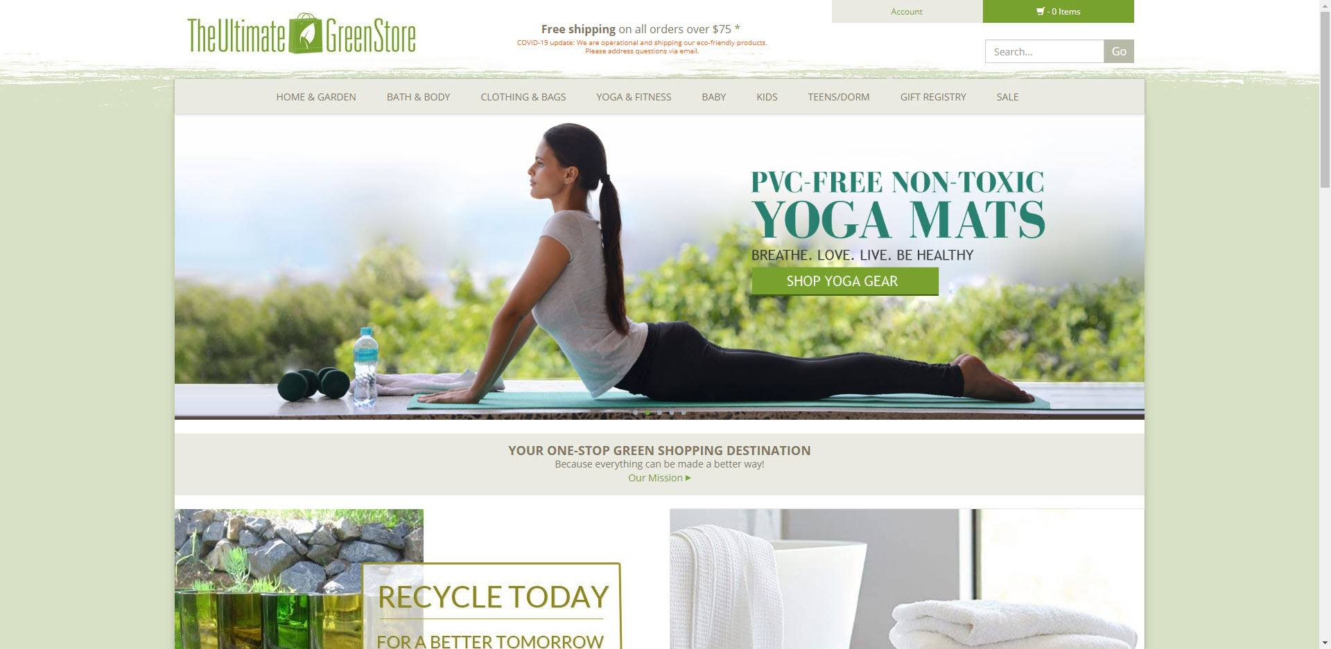eco friendly affiliate programs - The ulimate green store