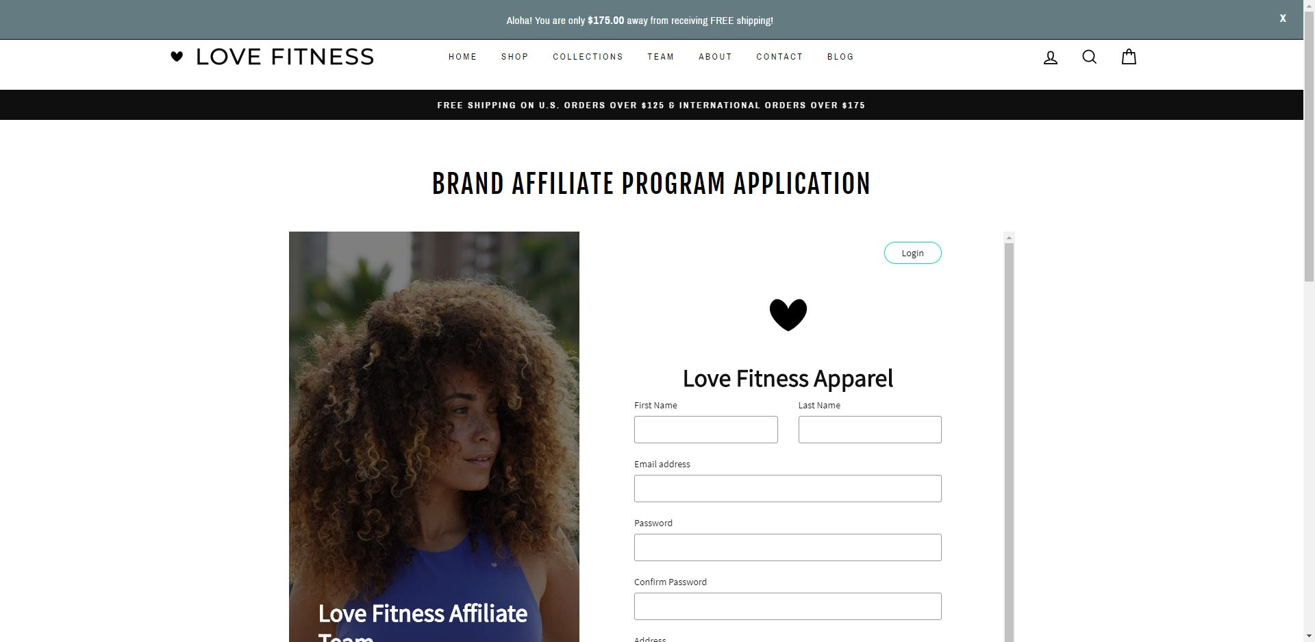 Activewear Affiliate Programs - Love Fitness Affiliate