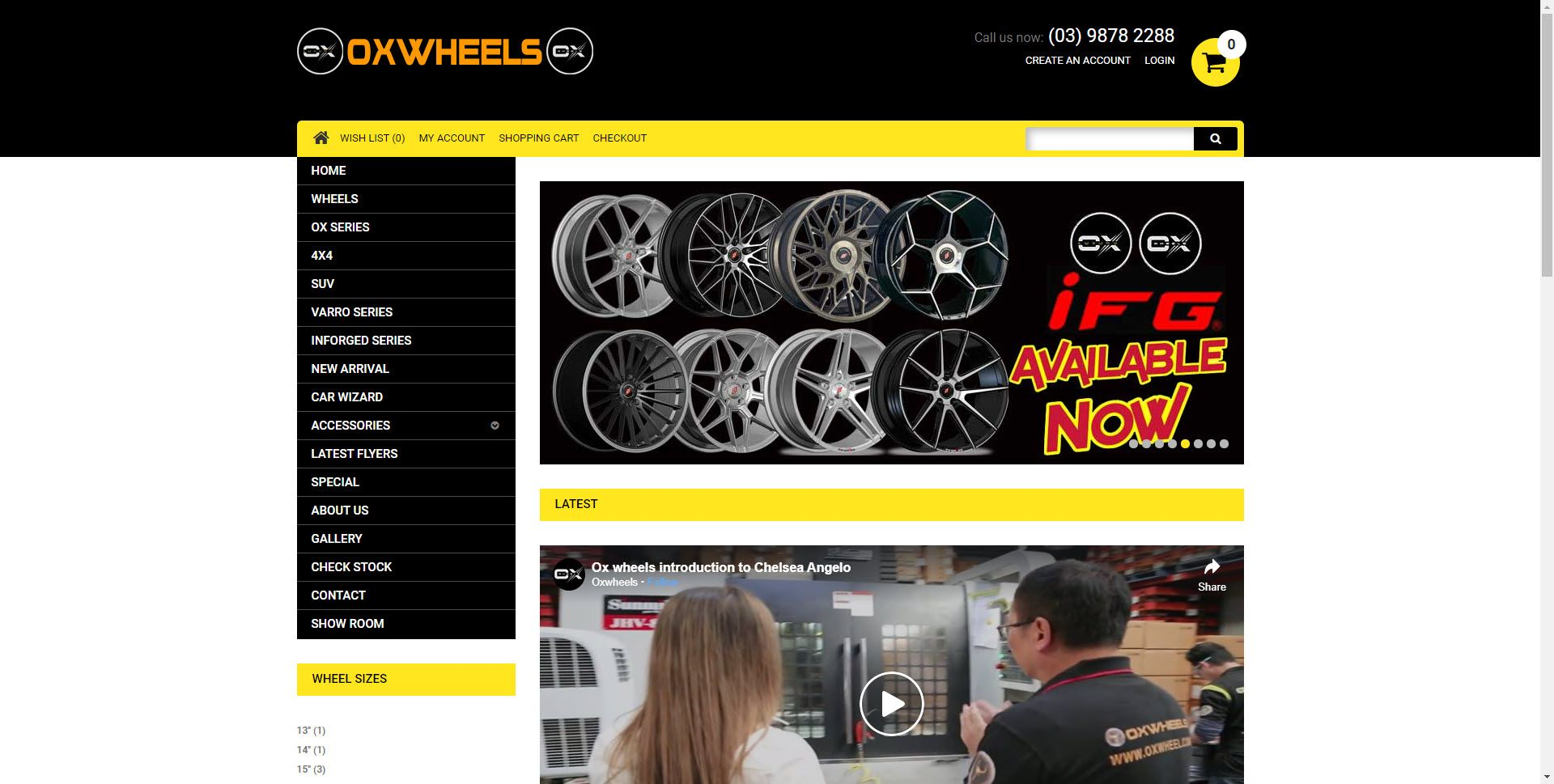 Car Parts Affiliate Programs - Ox Wheels