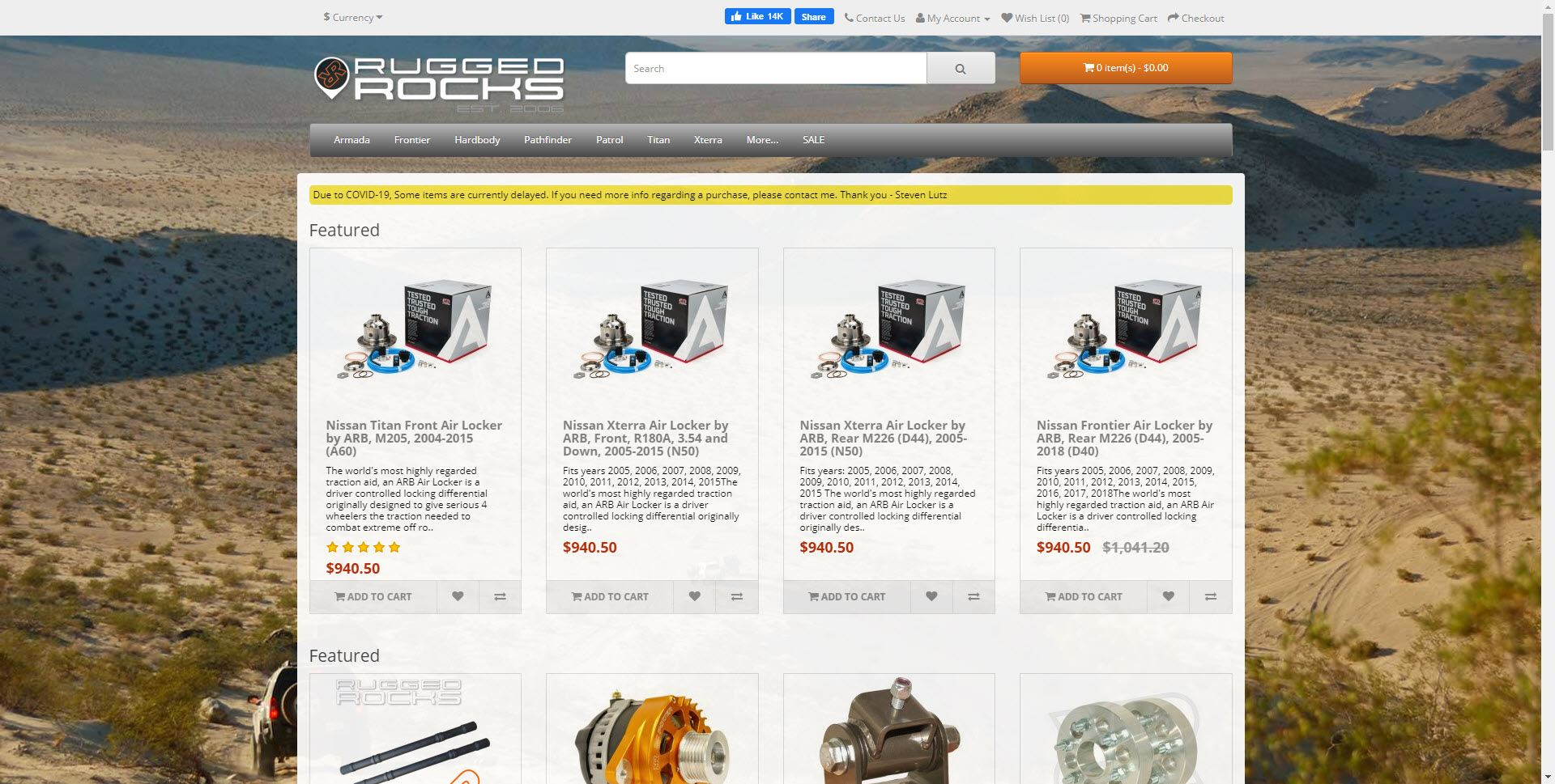 Car Parts Affiliate Programs - Rugged Rocks