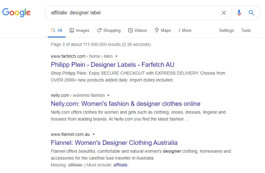 Fashion Designer Affiliate Programs - Affiliate