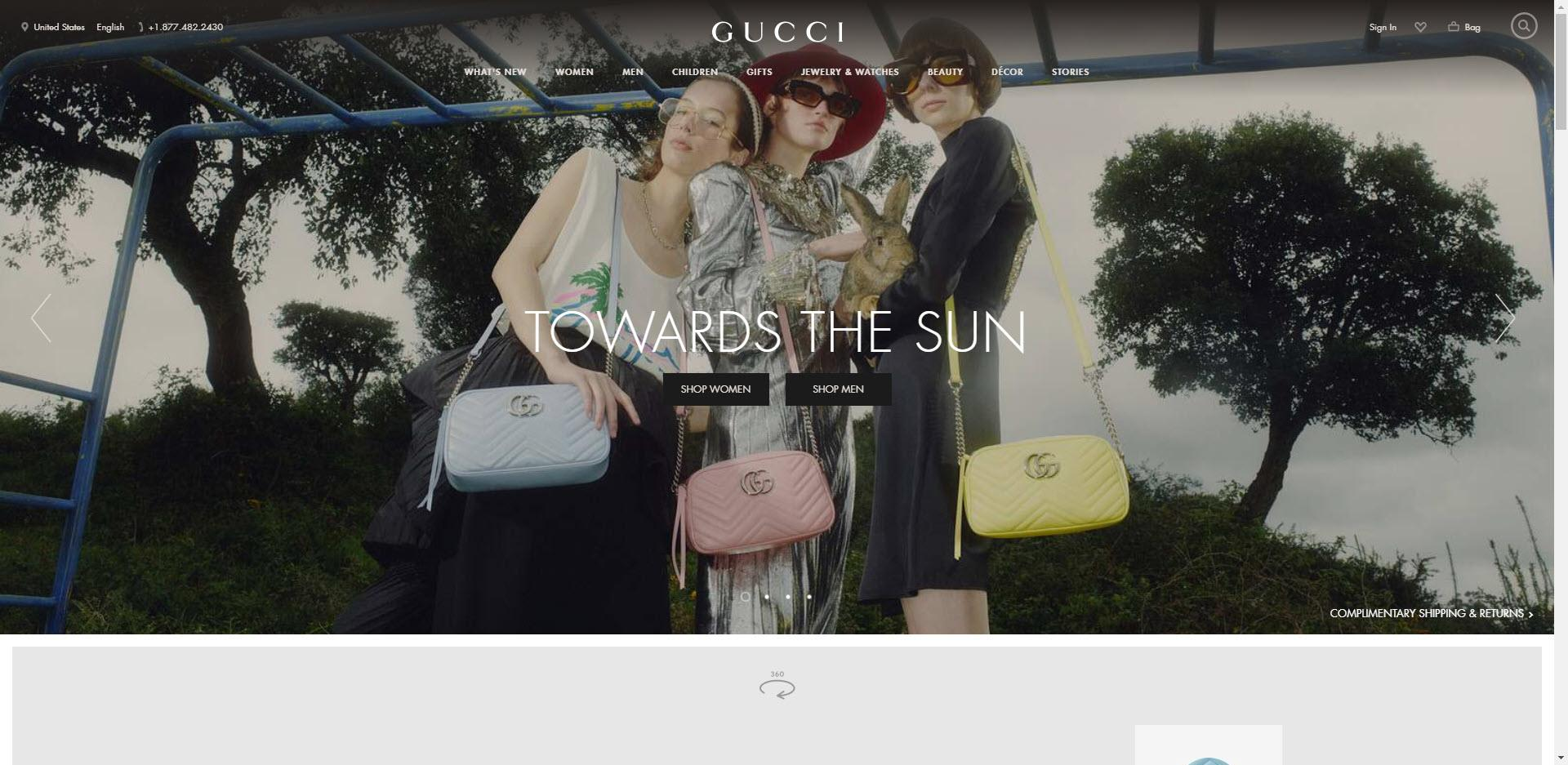 Fashion Designer Affiliate Programs - Gucci
