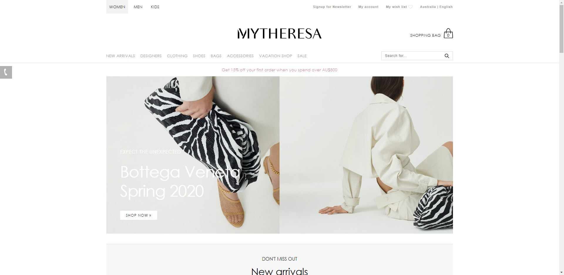 Fashion Designer Affiliate Programs - Mytheresa