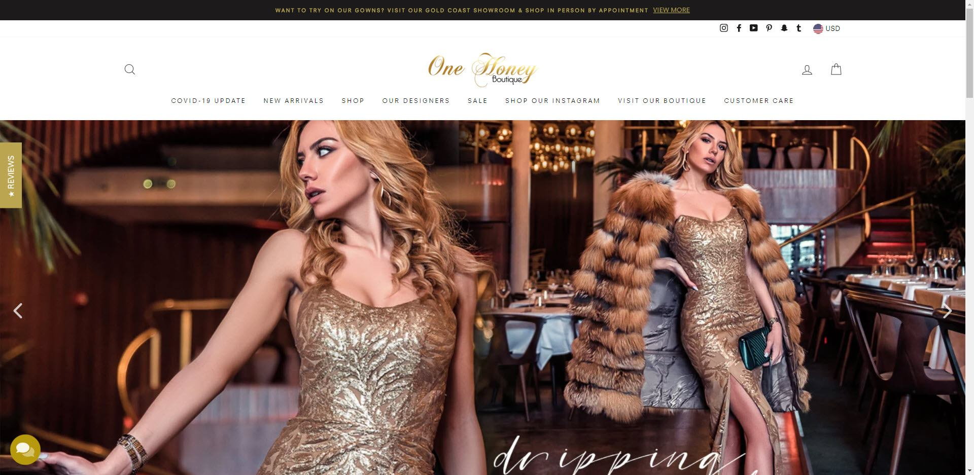 Fashion Designer Affiliate Programs - One Honey Boutique