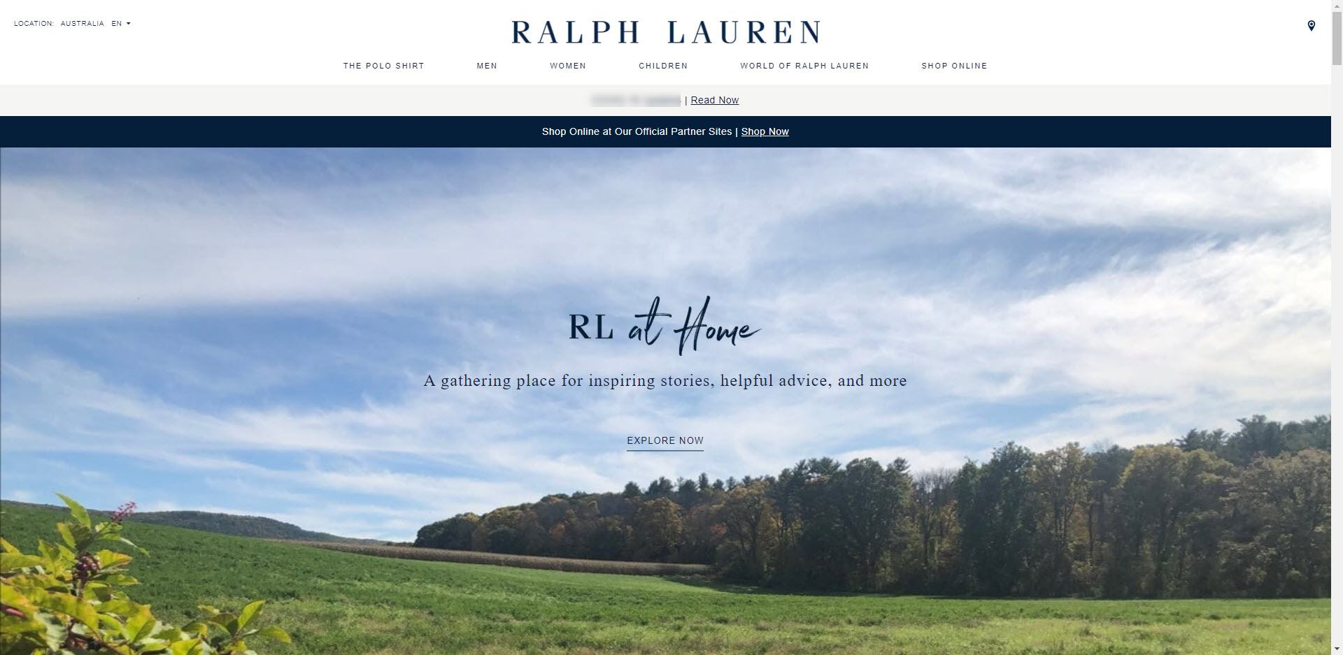 Fashion Designer Affiliate Programs - Ralph Lauren