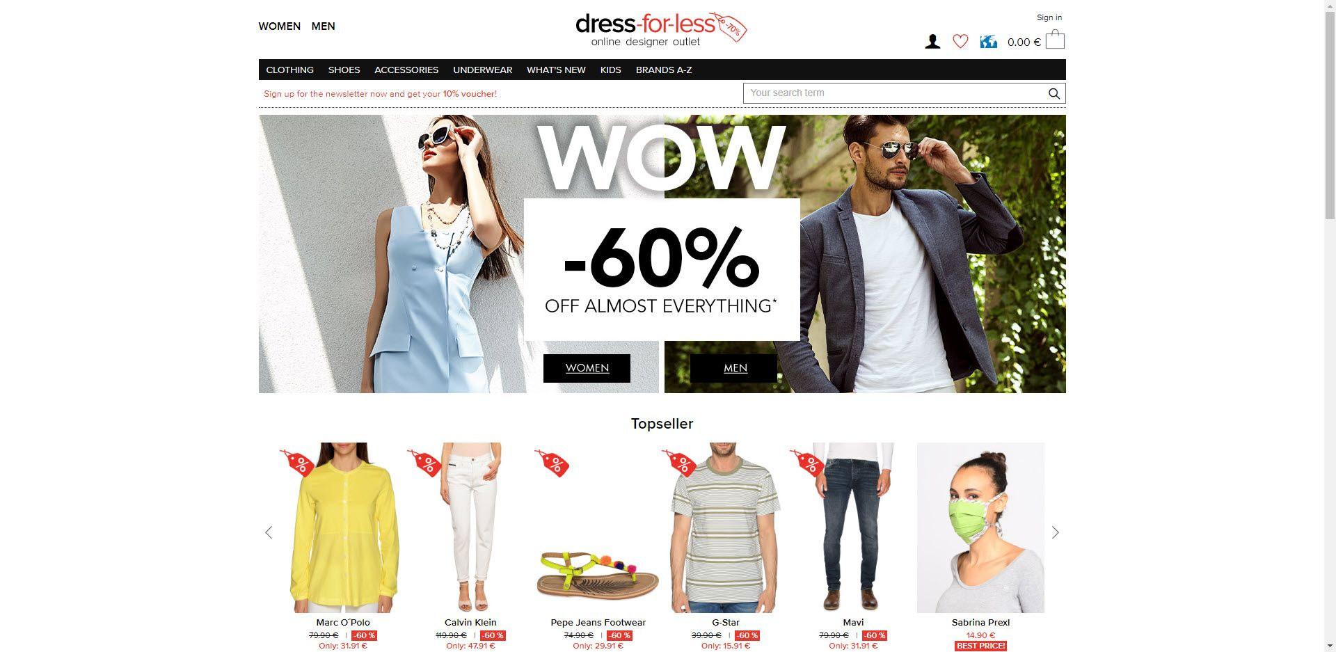 Fashion Designer Affiliate Programs - dress for less