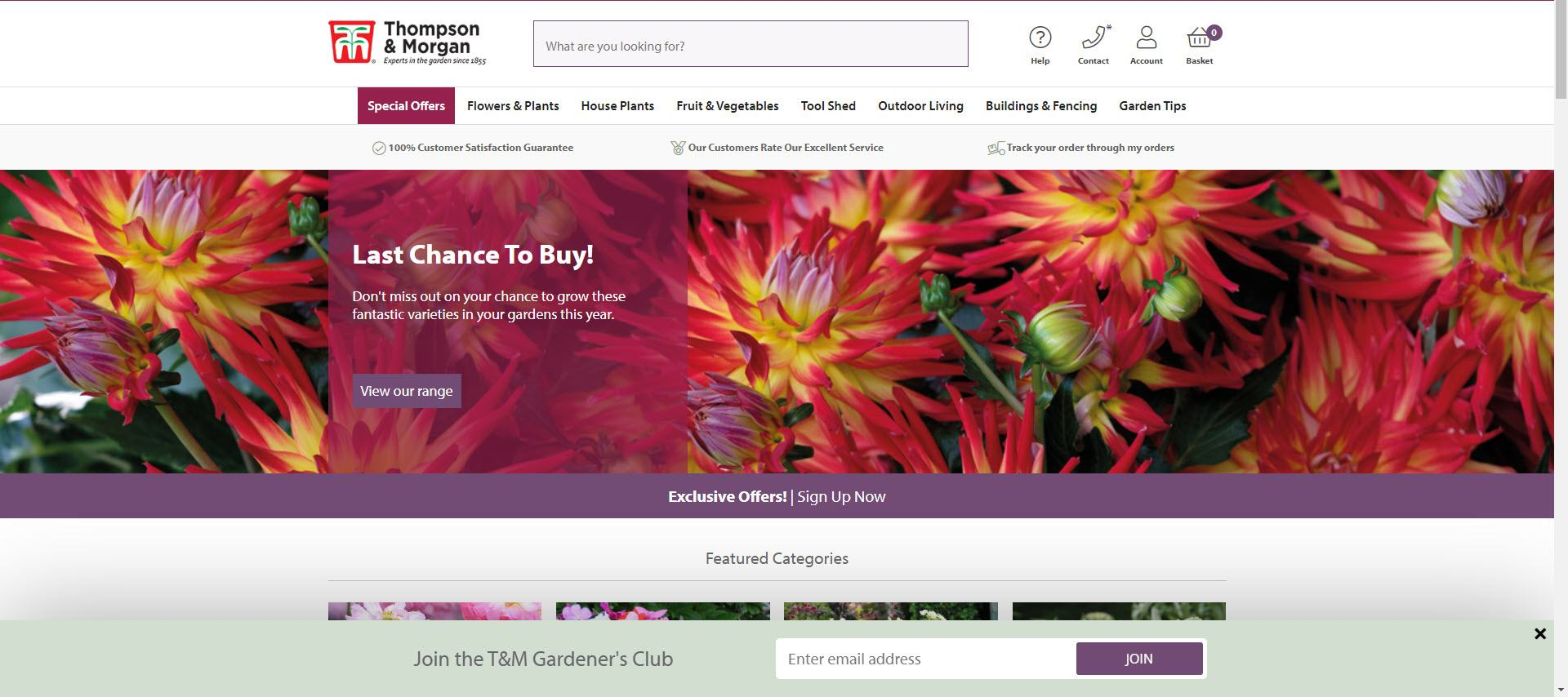 Gardening Affiliate Programs - Morgan and Thompson Home