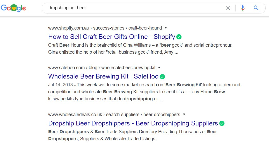 How To Sell Beer Online - drop ship