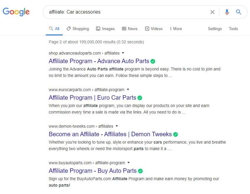 How To Sell Car Accessories Online - car affiliates