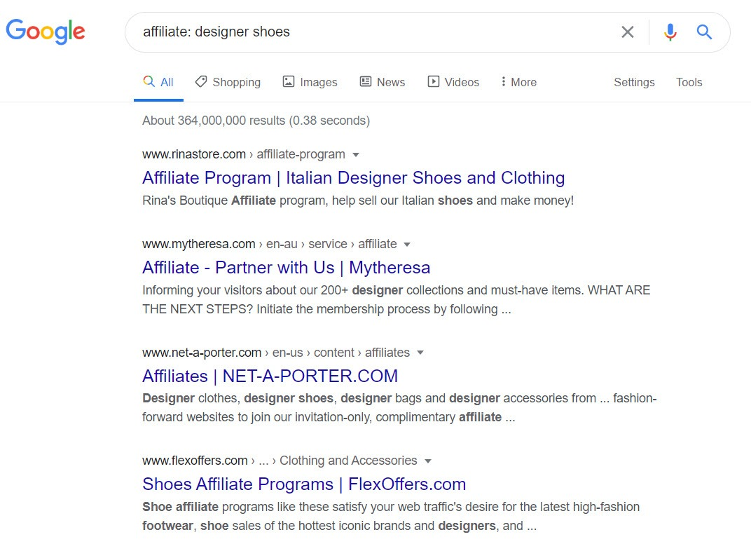 How to Sell Shoes Online - designer affiliate