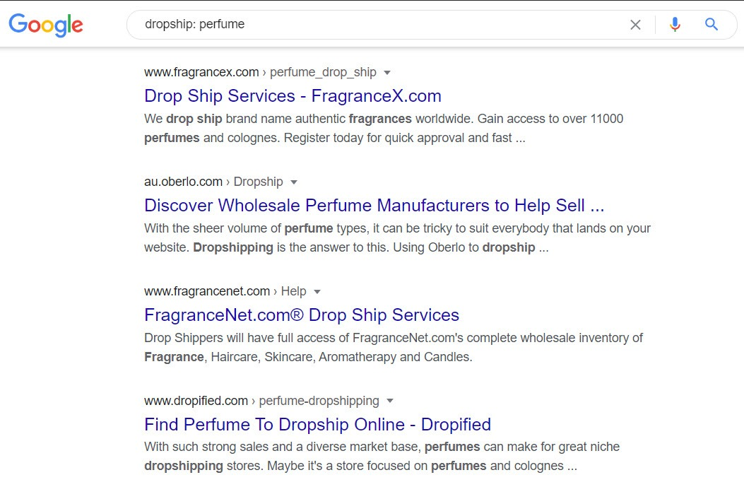 How to sell perfume online - perfume dropship