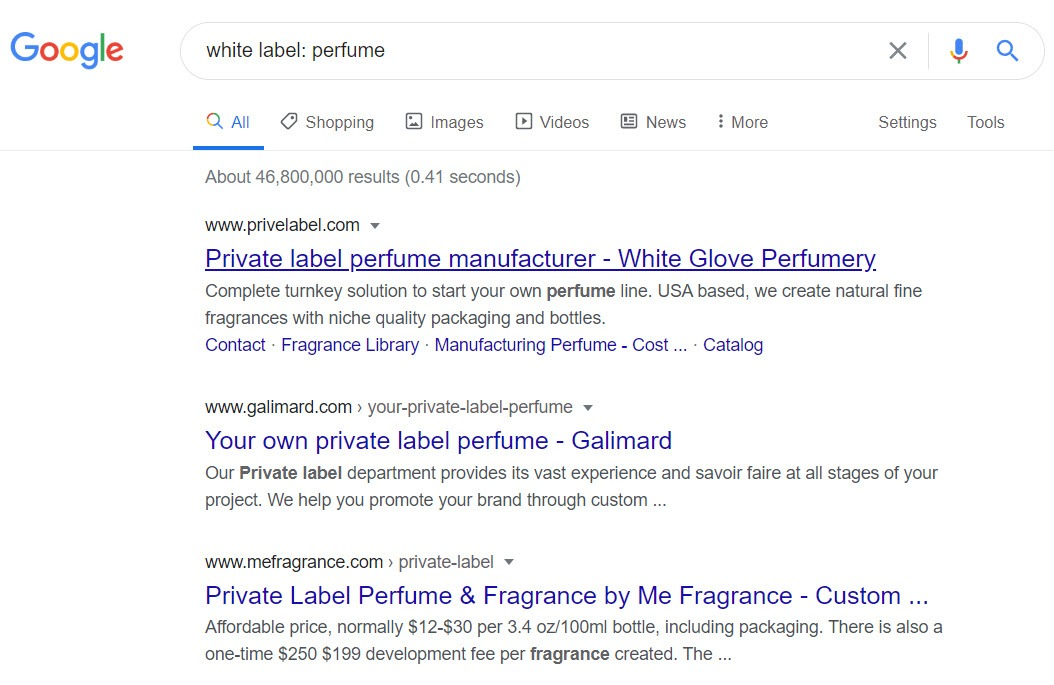 How to sell perfume online - perfume white label