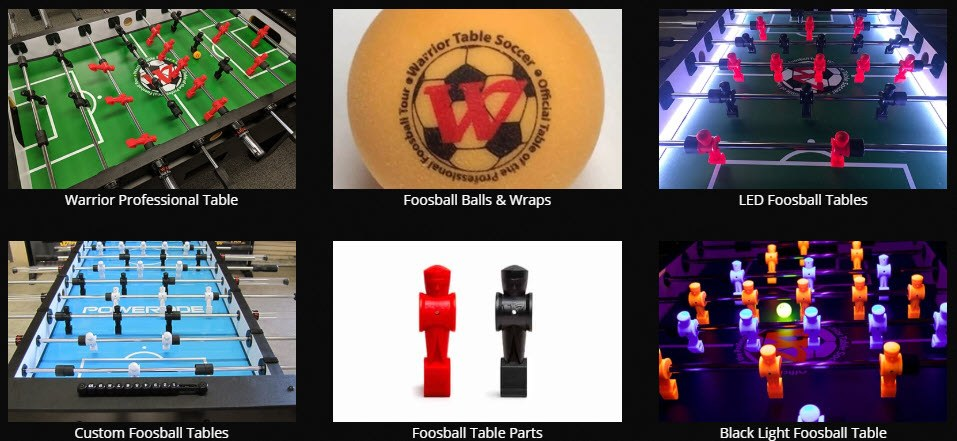 Man Cave Affiliate Programs - Warrior Table Soccer stripe