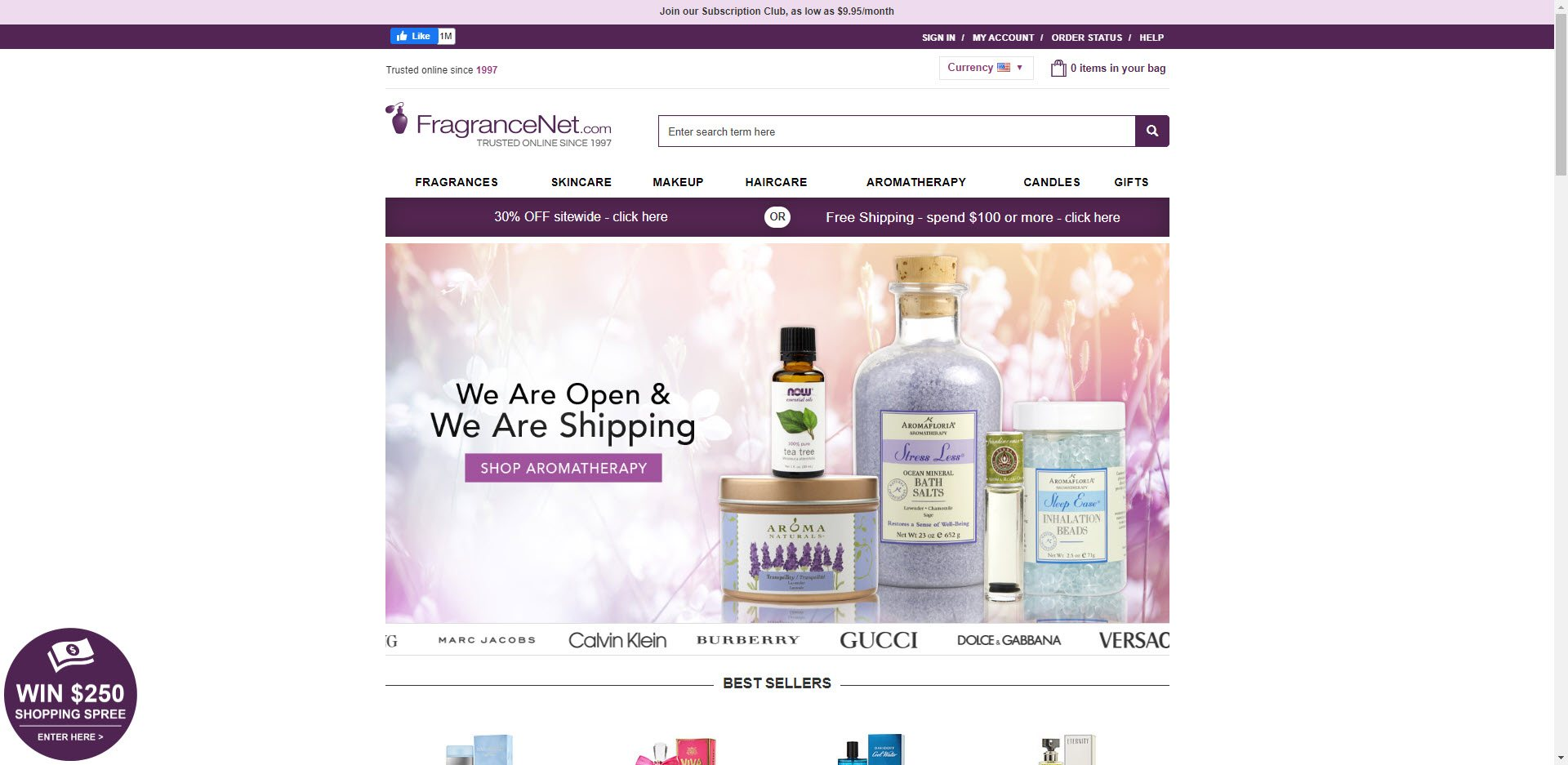 Perfume Affiliate Programs - Fragrancenet