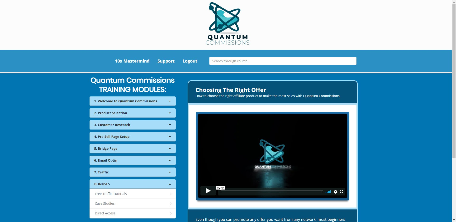 Quantum Commissions Review - Home