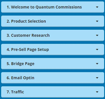 Quantum Commissions Review - Menu