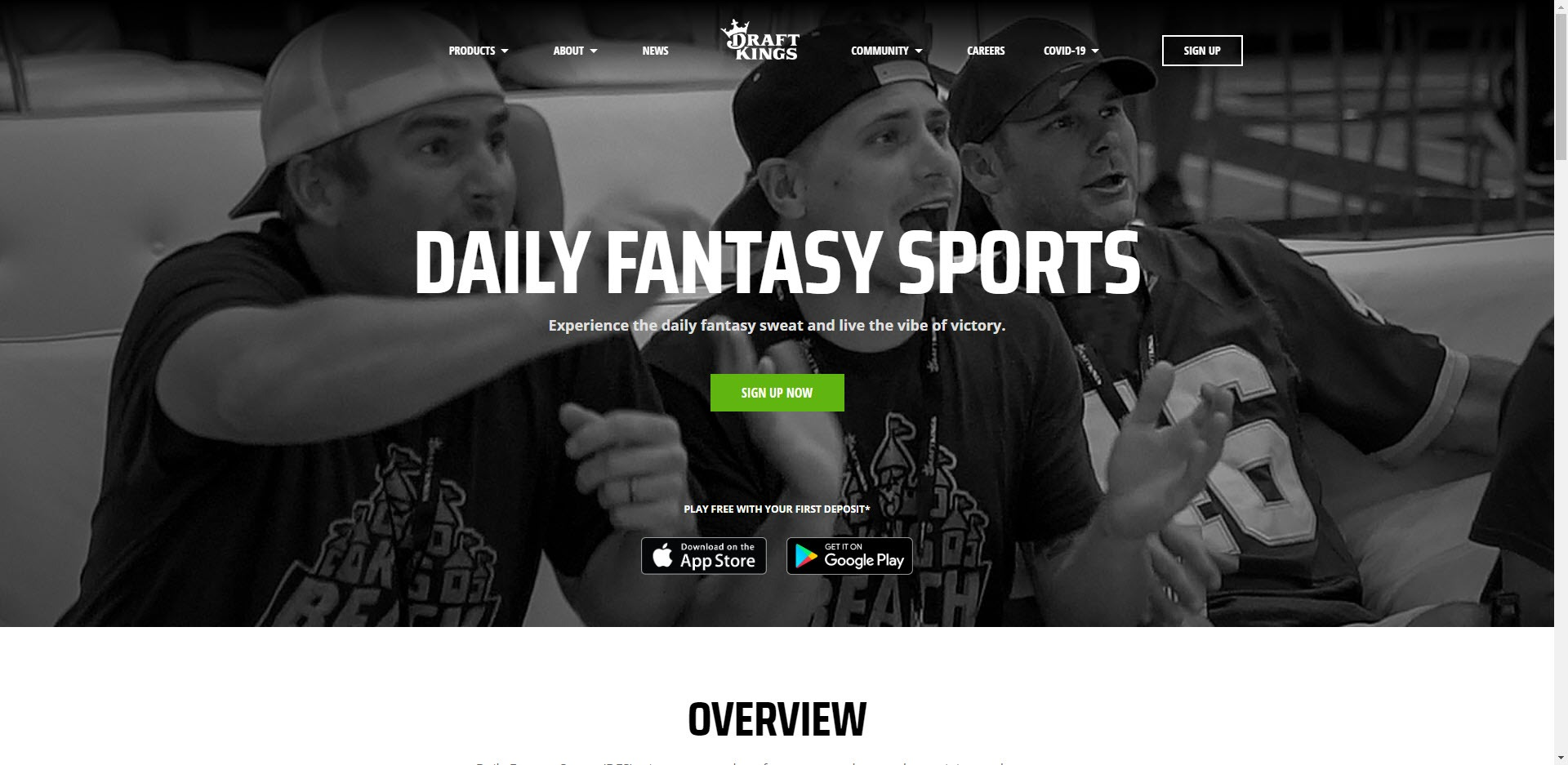 Sports Affiliate Programs - Draft Kings Home