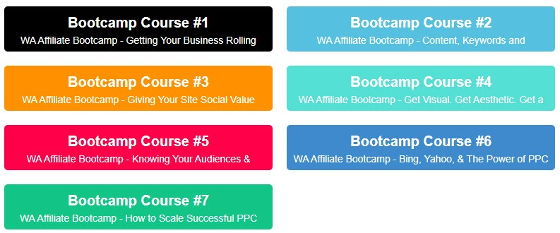 Wealthy Affiliate Affiliate Program Review - Training