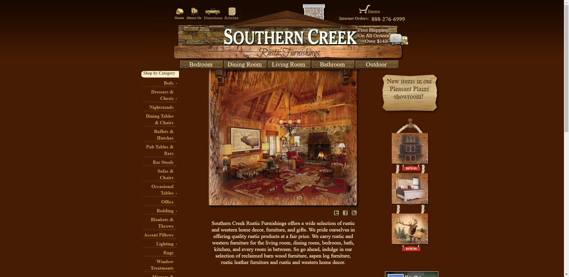furniture affiliate programs - Southern Creek Home
