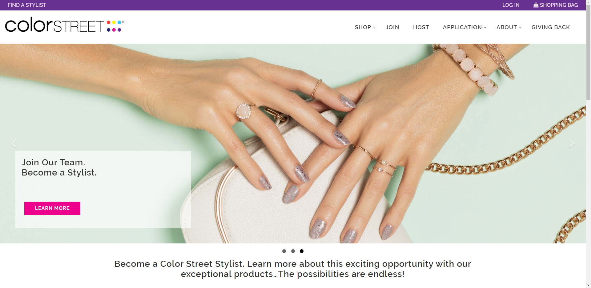 Color Street MLM Review - Home