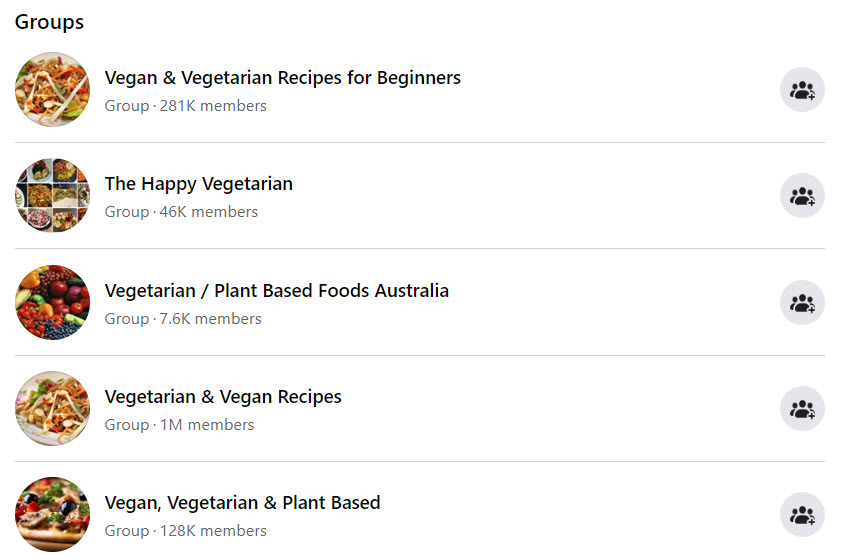 How To Sell Food Online From Home - vegetarian FB