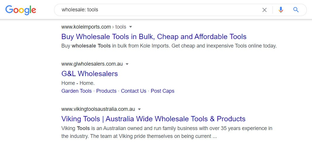 How To Sell Tools Online - wholesale tools