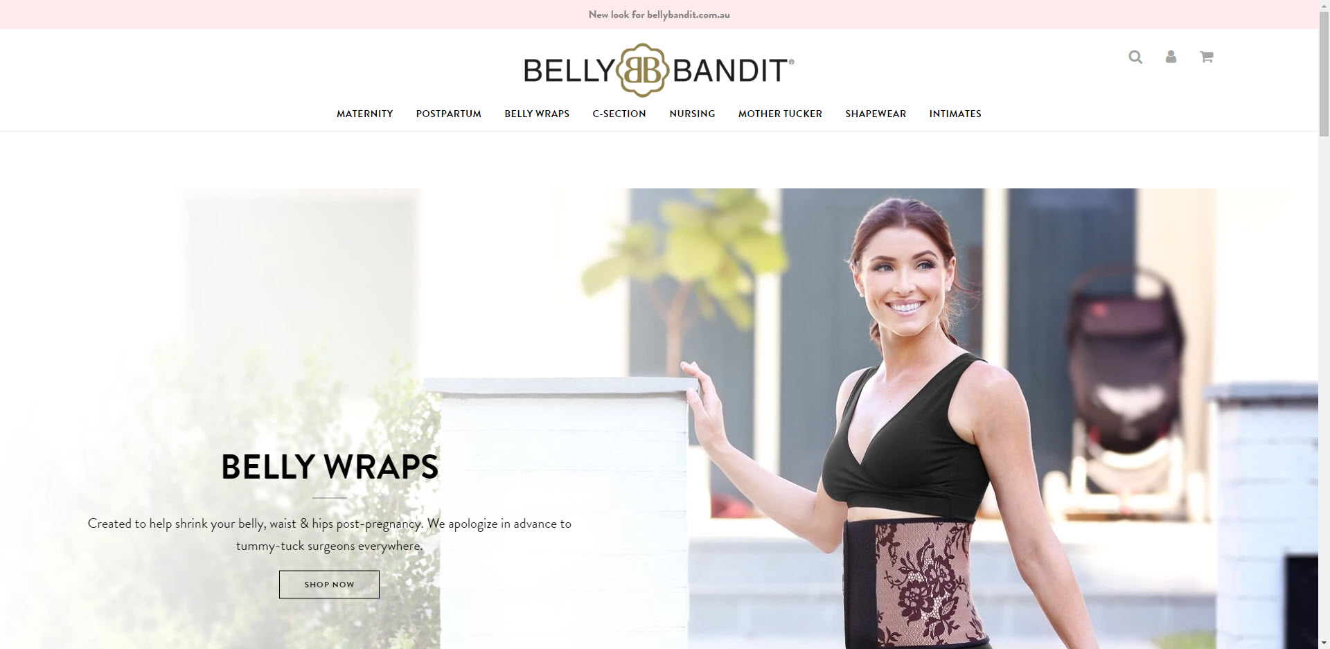 Maternity Affiliate Programs - Belly Bandit