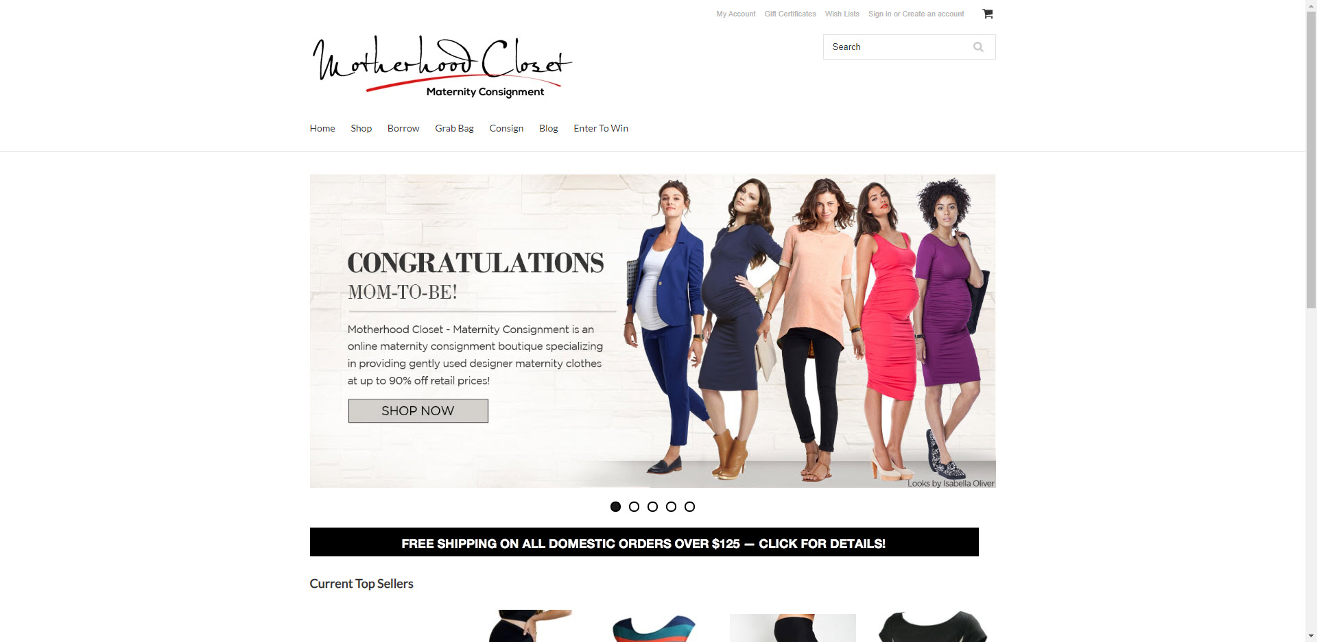 Maternity Affiliate Programs - Motherhood Closet