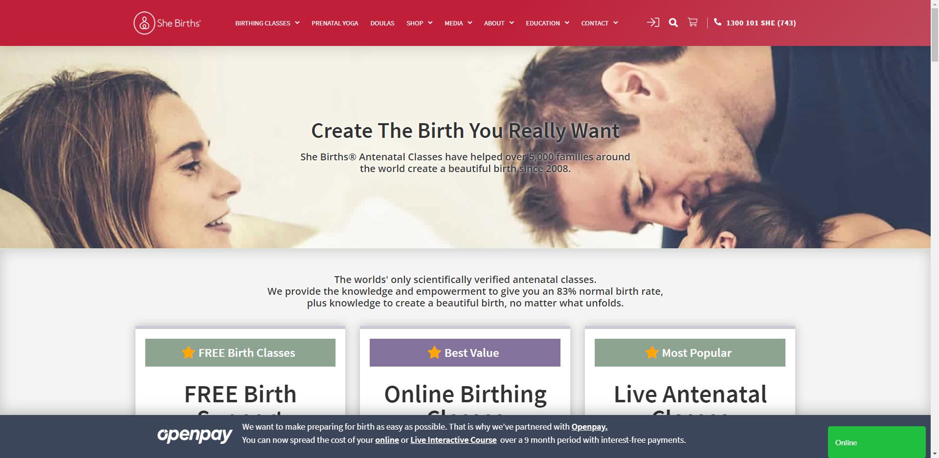 Maternity Affiliate Programs - she births