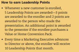 Melaleuca MLM Review - Leadership Points