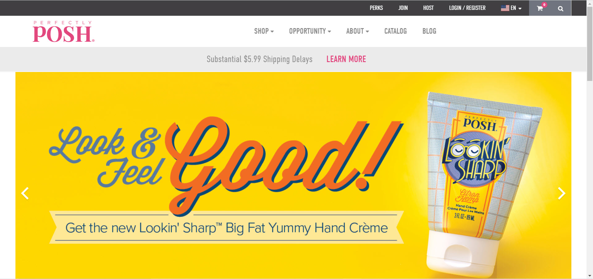 Perfectly Posh MLM Review - Home