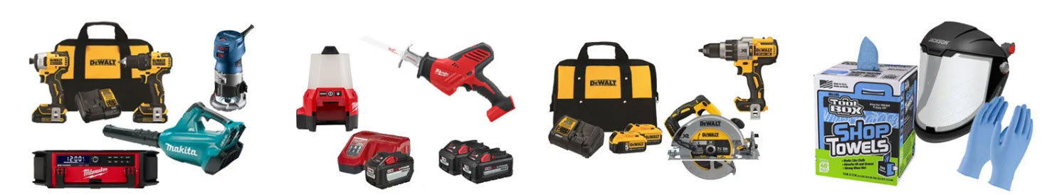 Power tools affiliate programs - ACME tools stripe