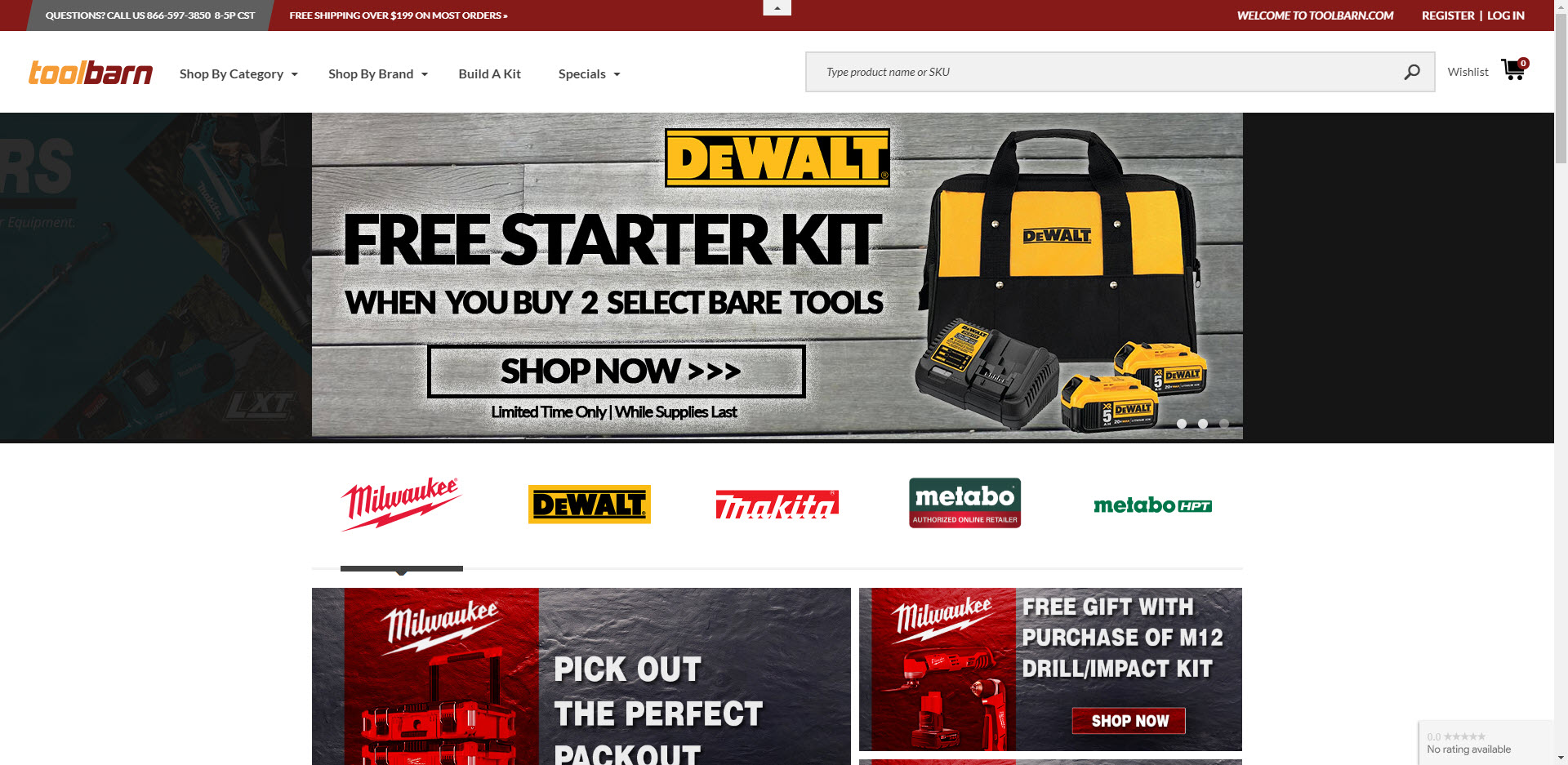 Power tools affiliate programs - toolbarn