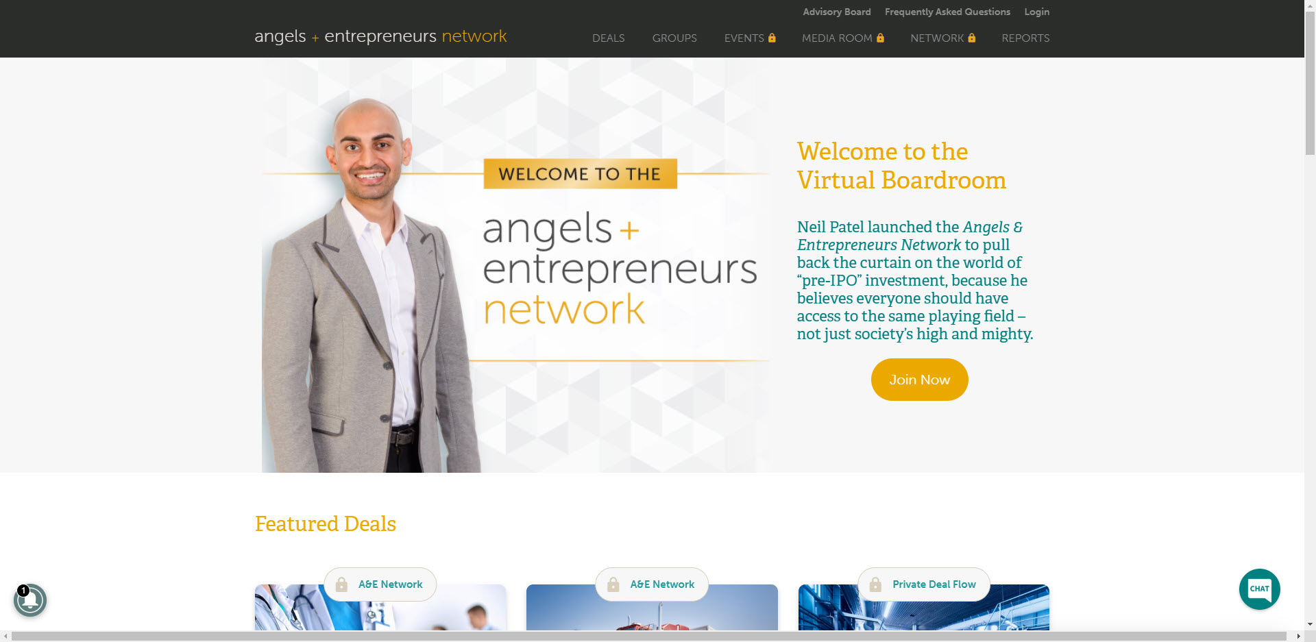 angels and investors review - Home