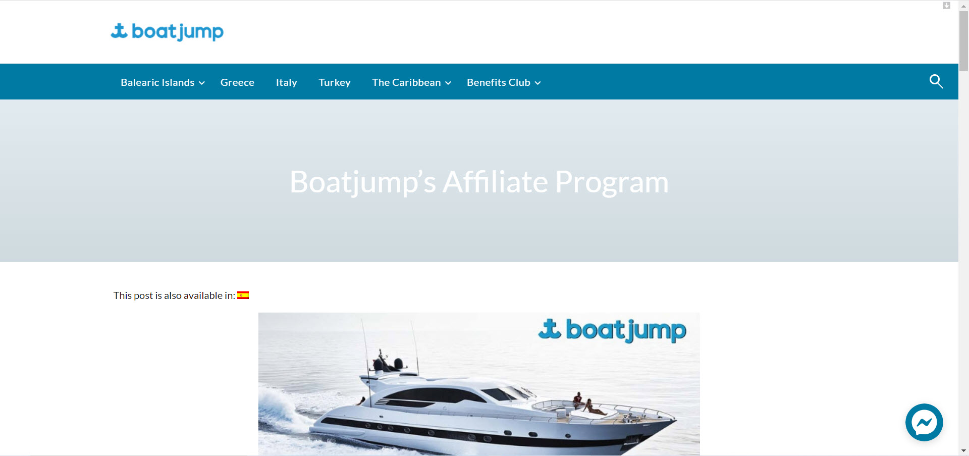 Boat Affiliate Programs - Boatjump affiliate