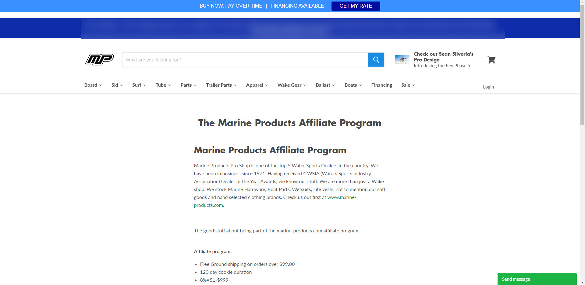 Boat Affiliate Programs - Marine Products affiliate