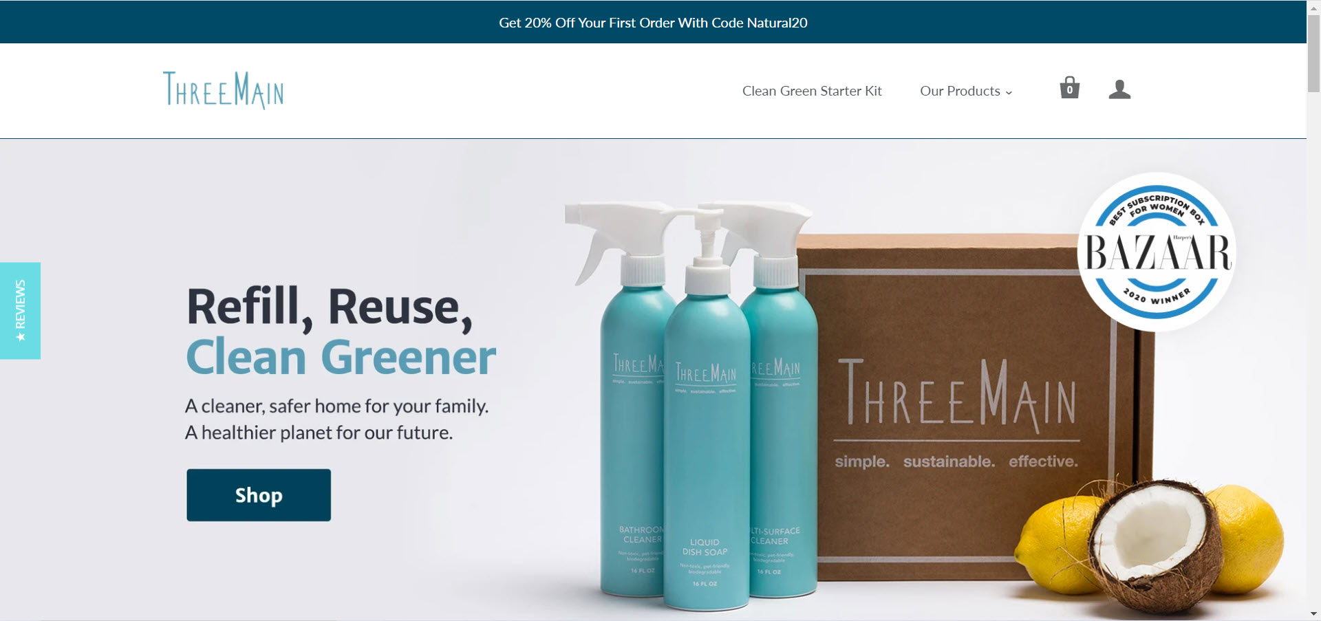 Cleaning Products Affiliate Programs - ThreeMain