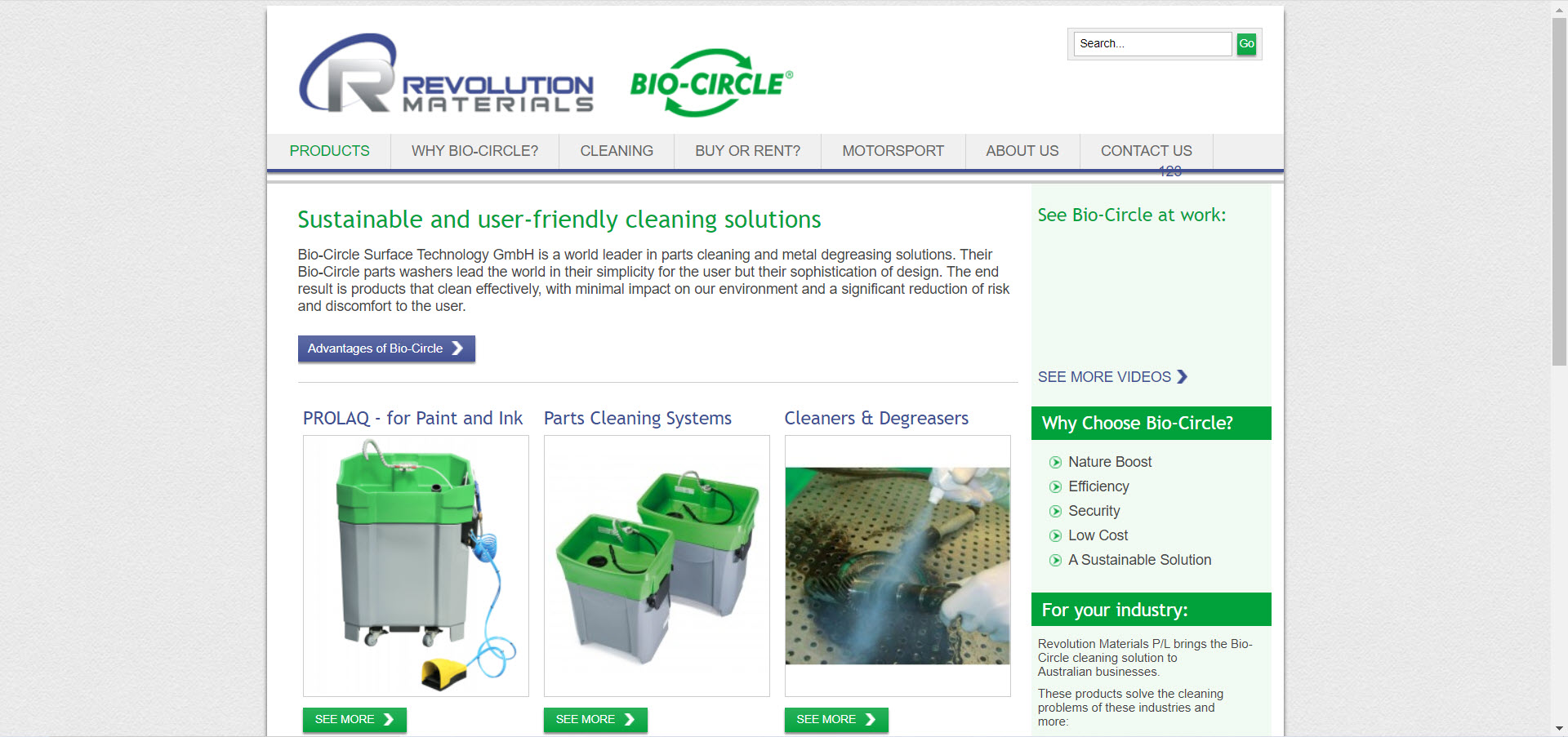 Cleaning Products Affiliate Programs - bio-circle