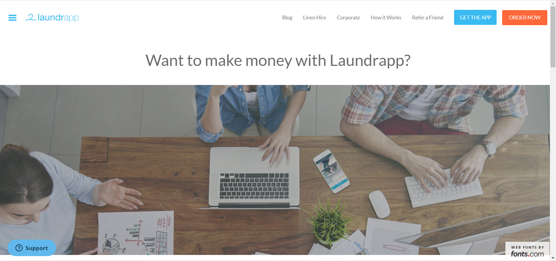 Cleaning Products Affiliate Programs - laundrapp affiliate