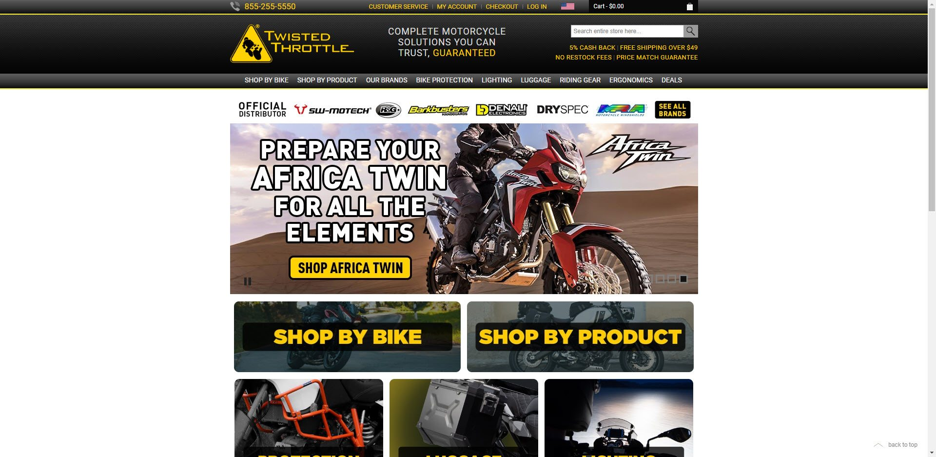 MotorCycle Affiliate Programs - Twisted Throttle